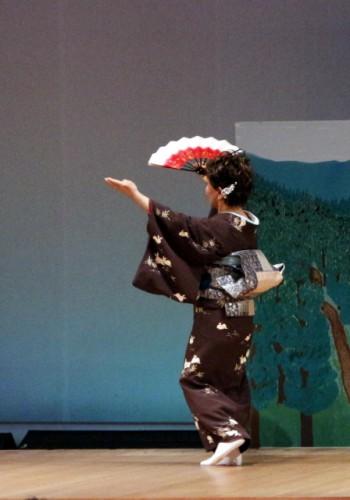 日本舞踊が踊れるように